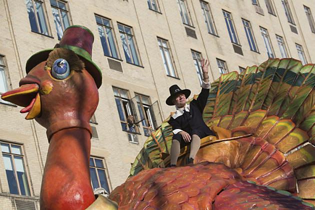 turkey in parade