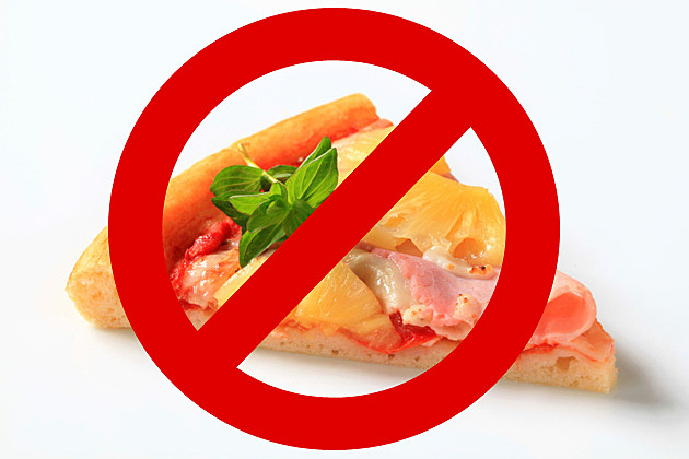 Say No to Pineapple Pizza