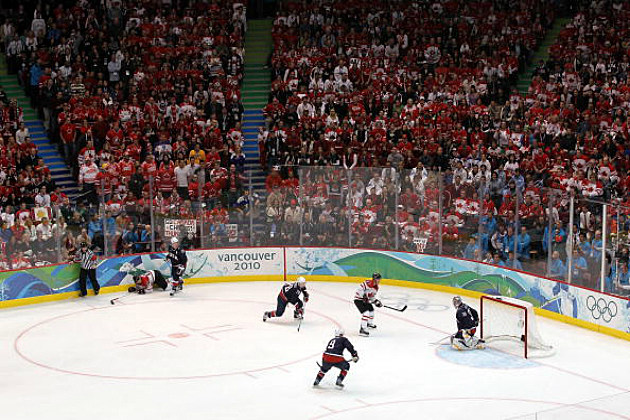 USA- Canada Gold Medal Game