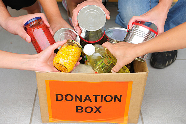 Donation Box - Food Bank Nothing Campaign