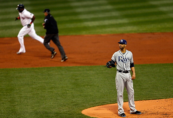 Division Series - Tampa Bay Rays v Boston Red Sox - Game Two