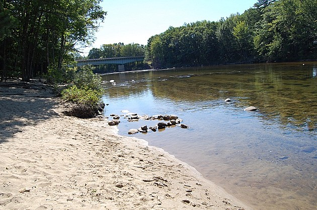 Picture Postcard__New Hampshire, Conway, Saco River