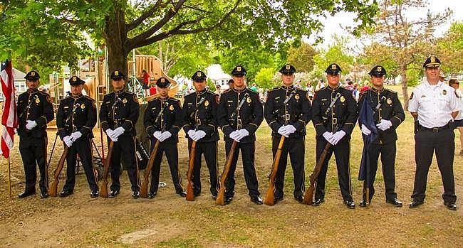 Roch NH Police Honor Guard