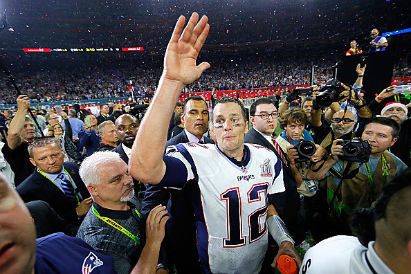 during Super Bowl 51 at NRG Stadium on February 5, 2017 in Houston, Texas.