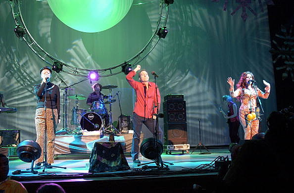 B-52's At Star 98.7 Not So Silent Night 2002